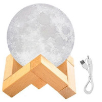 Stolná lampa LED Moonlight Moon isot9509