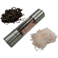 Manuálny mlynček na korenie a soľ, DUO B2