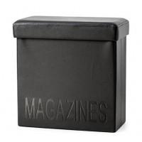 Box na noviny Balvi Relax, čierny