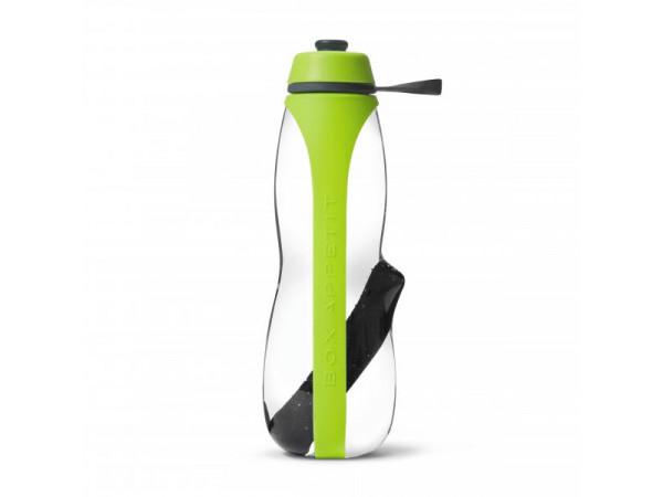 Filtračná fľaša s binchotanem BLACK + BLUM Eau Good Duo, 700ml, zelená