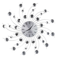 Nástenné hodiny Crystal Spiral Espa GEN004, 50cm