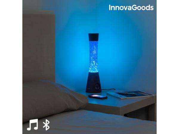 Dizajnová lampa Glitter s reproduktorom InnovaGoods IN5231