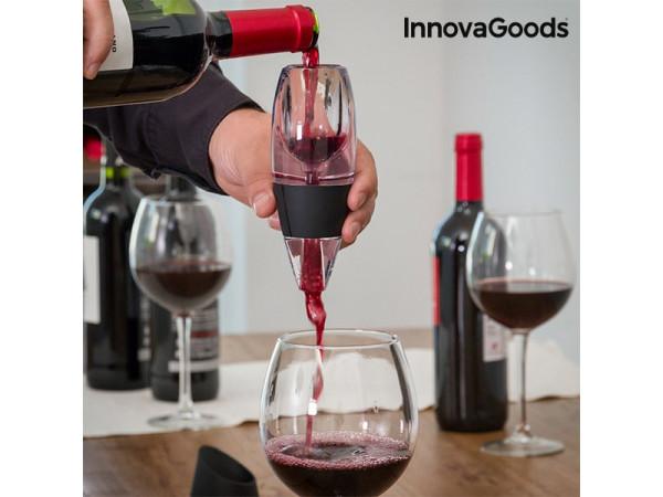 Dekanter na vino InnovaGoods, prietokový 0452