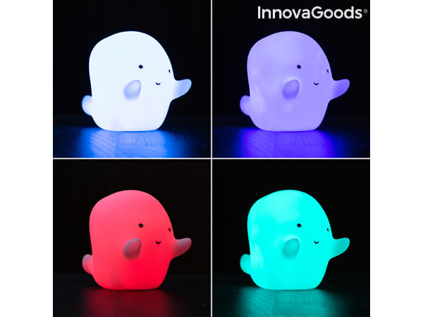 Led Lampa InnovaGoods Multicolour LED Ghost IN1274