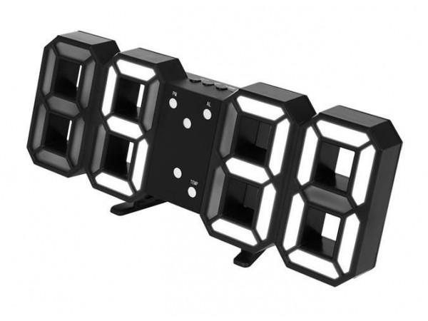Led hodiny s budíkom Isot9143, 23cm