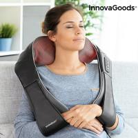 Masážny prístroj s infra vyhrievaním na telo InnovaGoods Massaki Shiatsu Massager Pro