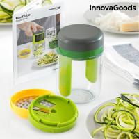 Spiralizer a strúhadlo s knihou receptov InnovaGoods FoodTube IN1025