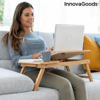 Skladací bambusový stôl InnovaGoods Lapwood IN3031