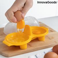 Sada na varenie vajec InnovaGoods Double Egg Poacher in3050