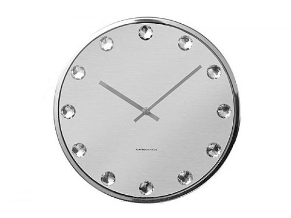 Nástenné hodiny ExitDesign Diamond, 422SM, 30cm
