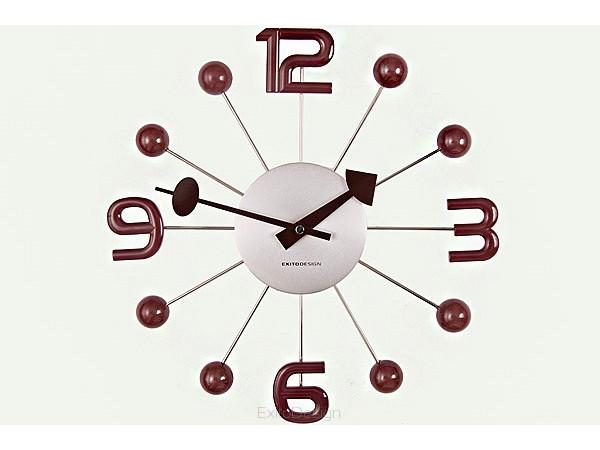 Nástenné hodiny ExitDesign Balls 033WT, 33cm
