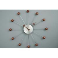 Nástenné hodiny ExitDesign Zara Balls, 087Woo, 50cm