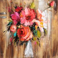 Obraz 80x80cm Kytica kvetov