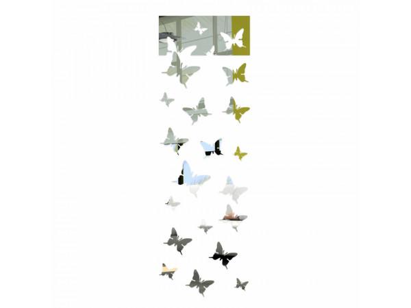 Dekoratívne zrkadlá Motýle 125cm