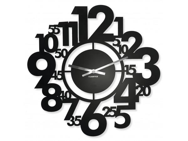Nástenné kovové hodiny Numeri Flex z21b-1-0-x, 50 cm