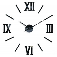 3D Nalepovacie hodiny DIY ADMIRABLE XL SWEEP 40C-1, 100-130cm