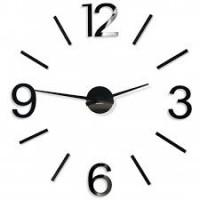 3D Nalepovacie hodiny DIY ADMIRABLE XL SWEEP 40d-1, 100-130cm