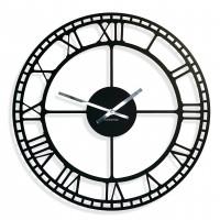Nástenné hodiny Vintage Retro, kovové, FLEXz21a, 50cm