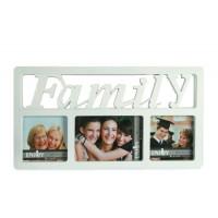 Fotorámik Family na 3 fotky, 41 x23cm