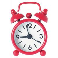 Budík MINI Alarm, červený 6cm