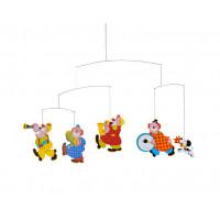 Závesná dekorácia Flensted Circus Mobile 34 x 55cm