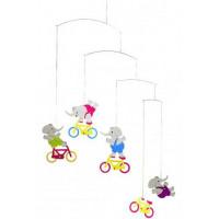 Závesná dekorácia Flensted Cyclephants