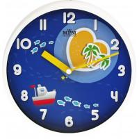 Detské nástenné hodiny MPM, 3091.00.SW - biela, 31cm