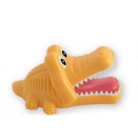 Držiak na kefku krokodíl - žltý