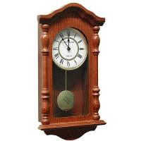 Drevené nástenné hodiny ASSO A19/175/2, 46cm