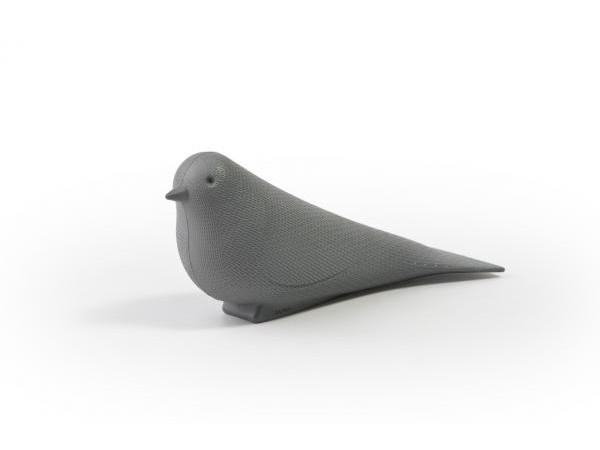 Dverný klin Qualy Dove, šedý