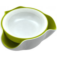 Joseph Joseph Double Dish Dvojitá miska biela/ zelená
