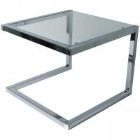 Konferenčný sklenený dizajnový stolík TN546L