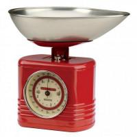 Kuchynská váha TYPHOON Vintage, červená