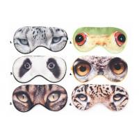 Maska na oči, rôzne motívy