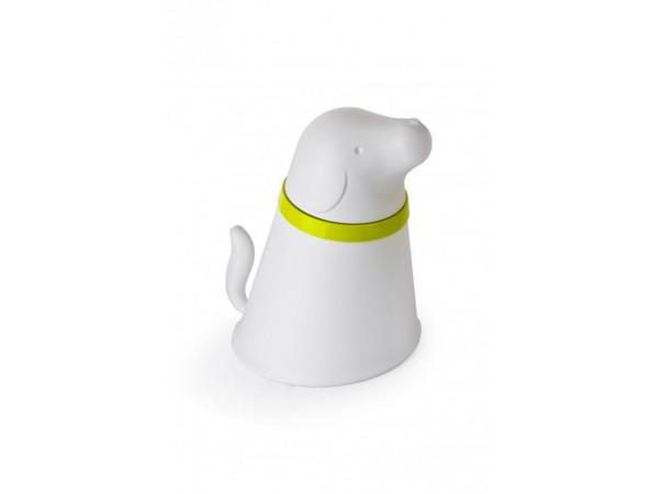 Miska so zásobníkom krmivá Qualy Pupp, biela
