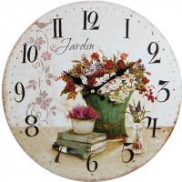 Nástenné hodiny hl Jardin 34cm