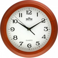 Nástenné hodiny MPM 3050.51 - hnedá svetlá, 27cm
