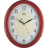 Nástenné hodiny MPM, 1898.55.SW - gaštan, 35cm