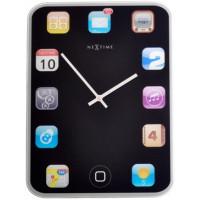 Nástenné hodiny 5181 Nextime Mini wall pad iPod 20cm
