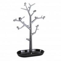 PI: P L držiak strom na drobnosti Koziol, čierna, ozdoby transp. antracit