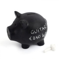 Popisovateľná pokladnička BALVI Oink Bank, 20cm