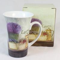 Porcelánový šálek Levandule, 320ml