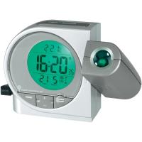 Projekčné DCF hodiny s multibarevným LCD