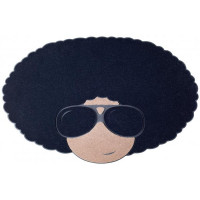 Rohožka BALVI Afro 75x45cm