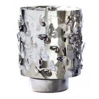 Rotačný svietnik na čajovú sviečku INVOTIS Carousel Butterflies