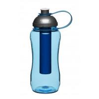 Samochladiacia fľaša SAGAFORM Self-Cooling Bottle, modrá
