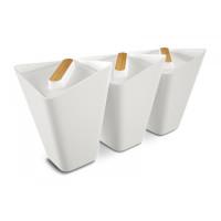 Sada kuchynských nádob BLACK-BLUM Storage Jars, biela