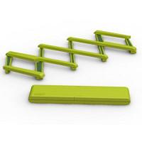 Skladacia podložka pod horúce nádoby JOSEPH JOSEPH Stretch, zelená