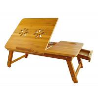 Stolík na notebook do postele Bambusový, RD9147