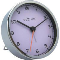 Stolný budík 5194wi Nextime Company Alarm 9cm
